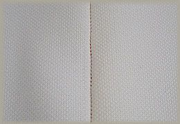 縫製工場ミヤモリ フラットシーマ 三本糸オーバーロックミシンを使用した縫い目1-表側
