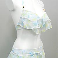 ミヤモリ OEM生産事例 レディスファッション水着 ワイヤー 2段フリル